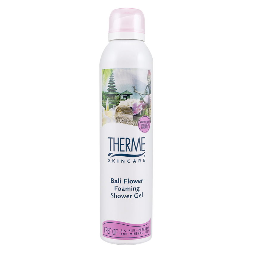 Bali Flower Foaming Shower Gel 200ml