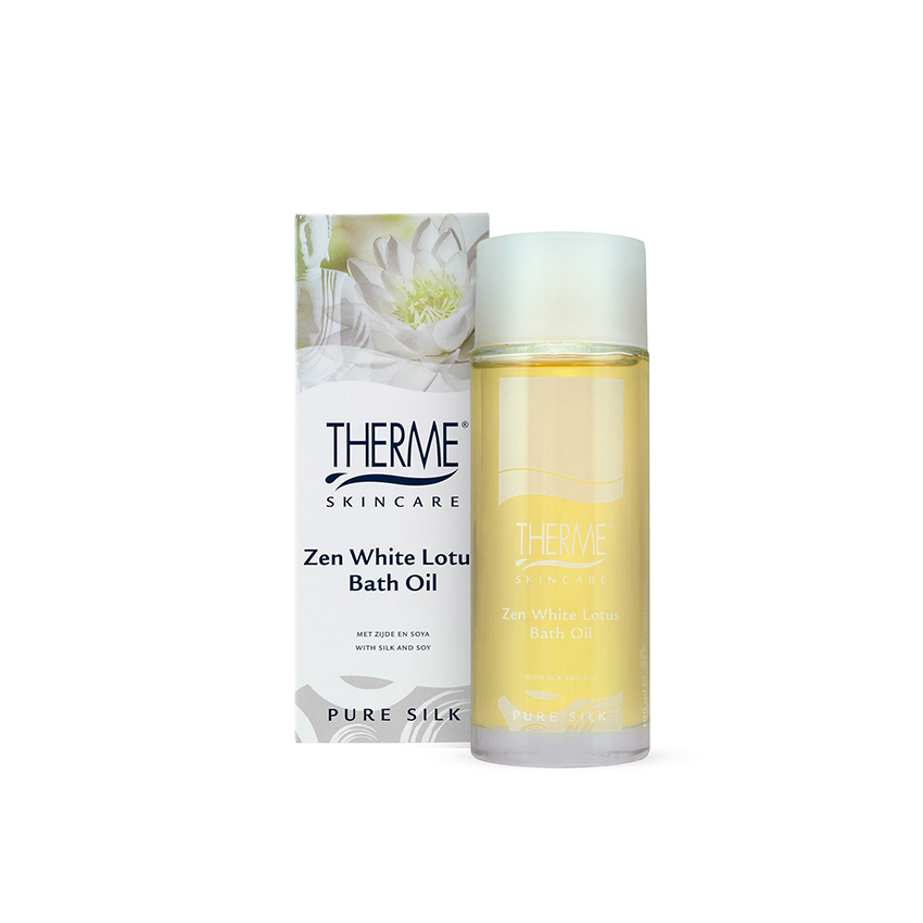 Zen White Lotus Bath Oil 100ml
