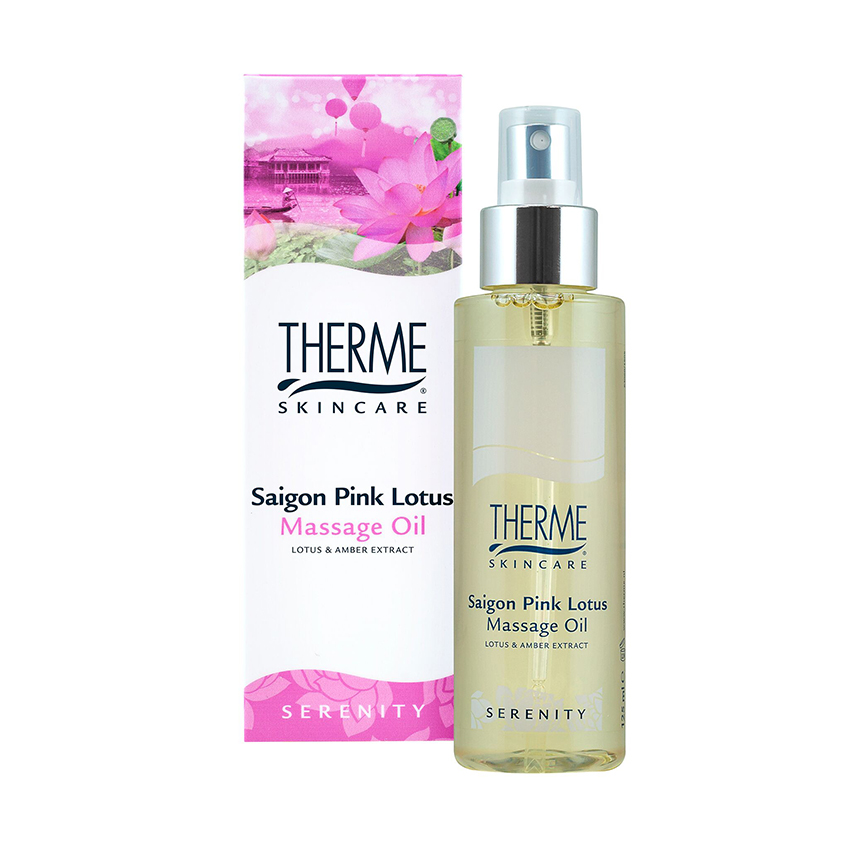 Saigon Pink Lotus Massage Oil 125ml